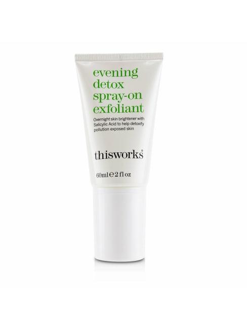 This Works Women's Evening Detox Spray-On Exfoliant Exfoliator