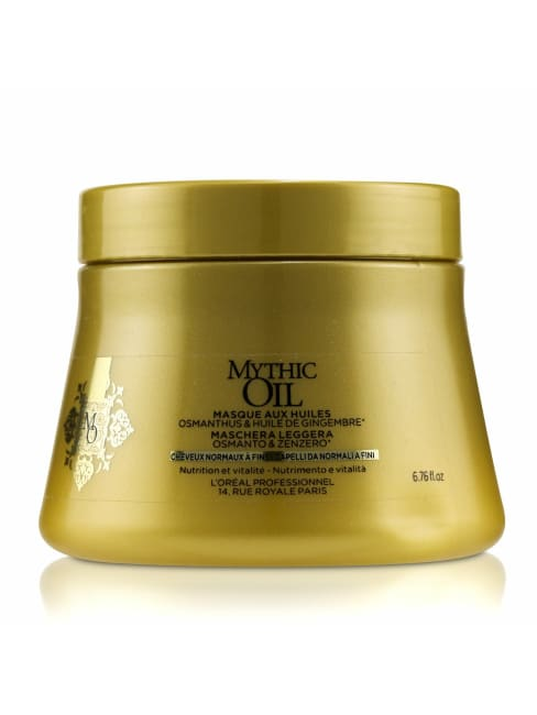 L'oreal Women's Professionnel Mythic Oil Light Masque With Osmanthus & Ginger Hair Mask
