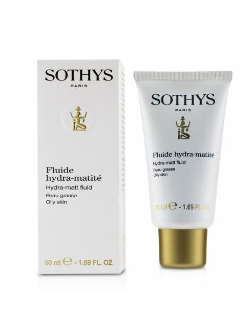 Sothys Men's For Oily Skin Hydra-Matt Fluid Balms & Moisturizer