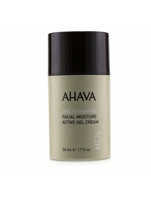Ahava Men's Time To Energize Facial Moisture Active Gel Cream Balms & Moisturizer