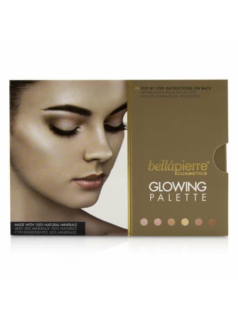 Bellapierre Cosmetics Women's Glowing Palette Brush Set