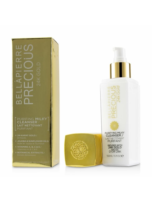 Bellapierre Cosmetics Women's Precious 24K Gold Purifying Milky Cleanser Face