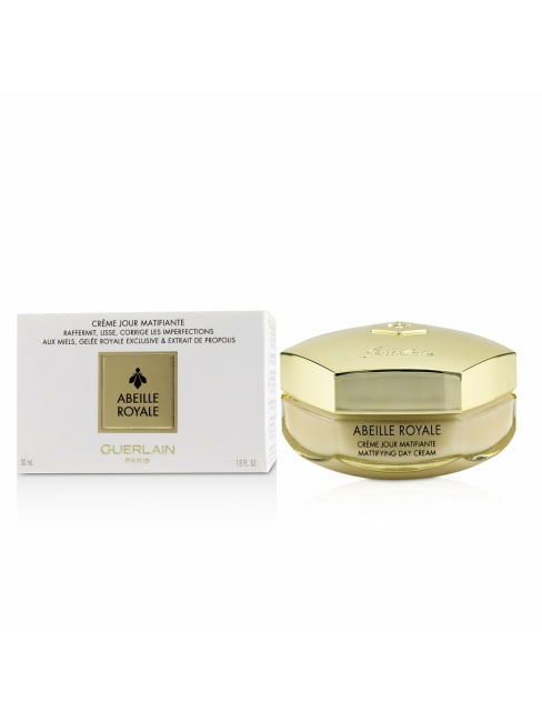 Guerlain Men's Firms, Smoothes, Corrects Imperfections Abeille Royale Mattifying Day Cream Balms & Moisturizer