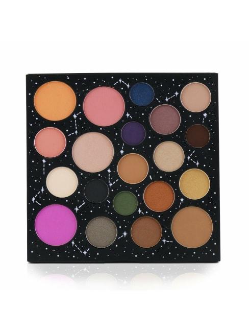 Smashbox Women's Cosmic Celebration Star Power Face + Eye Shadow Palette Brush Set