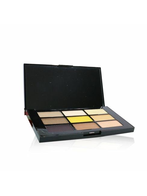 Shu Uemura Women's # Yuzu Vibration Chromatics Eyeshadow Palette Brush Set
