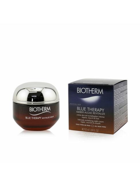 Biotherm Men's Blue Therapy Amber Algae Revitalize Intensely Revitalizing Night Cream Balms & Moisturizer
