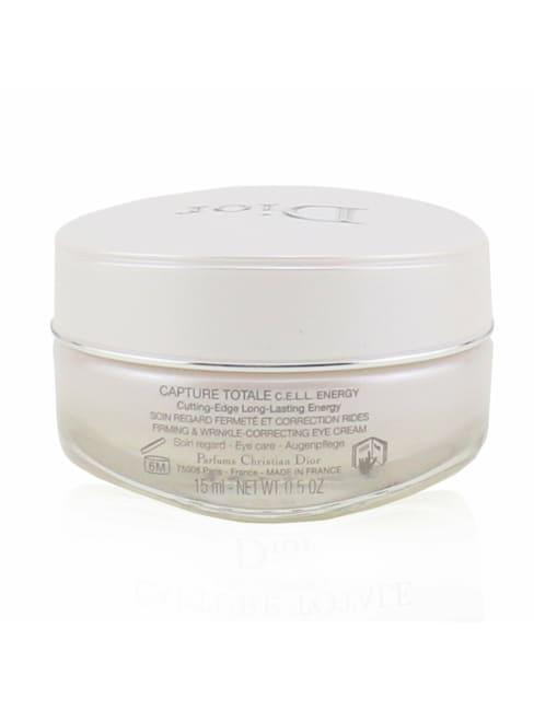 Christian Dior Women's Capture Totale C.e.l.l. Energy Firming & Wrinkle-Correcting Eye Cream Gloss