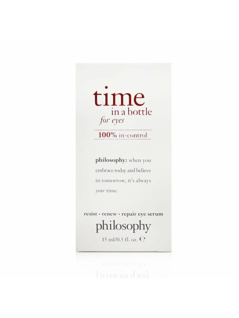 Philosophy Women's 100% In-Control Time In A Bottle For Eyes Serum Eye Gloss