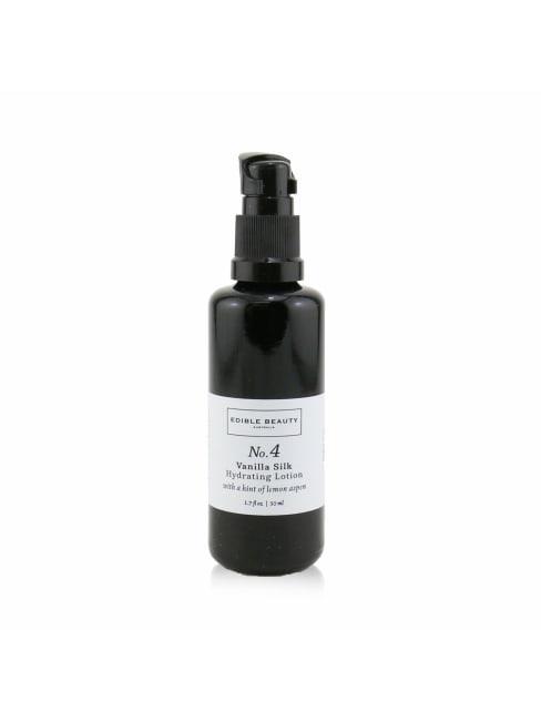 Edible Beauty Men's No. 4 Vanilla Silk Hydrating Lotion Balms & Moisturizer