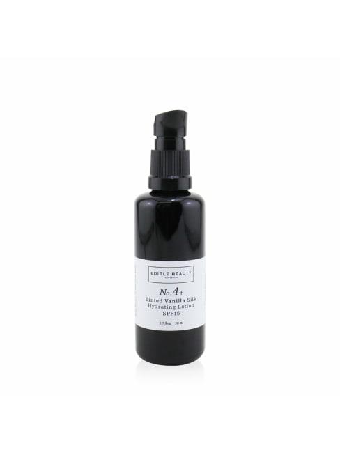 Edible Beauty Men's No. 4+ Tinted Vanilla Silk Hydrating Lotion Spf 15 Balms & Moisturizer