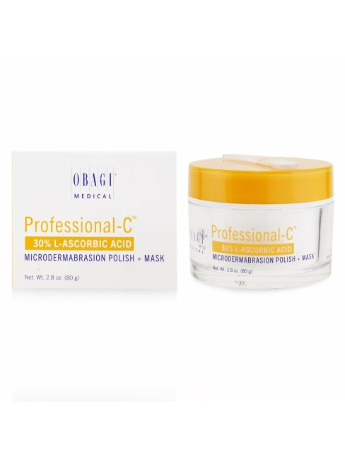 Obagi Women's Professional-C 30% L-Ascorbic Acid Microdermabrasion Polish + Mask Exfoliator