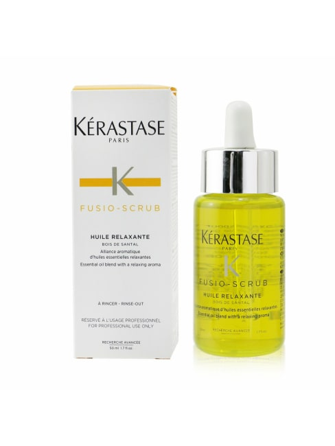 Kerastase Men's Fusio-Scrub Huile Relaxante Essential Oil Blend With A Relaxing Aroma Hair & Scalp Treatment
