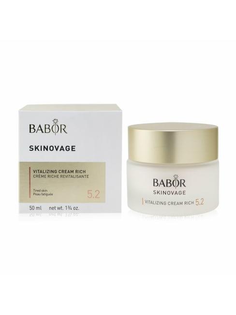 Babor Men's For Tired Skin Skinovage [Age Preventing] Vitalizing Cream Rich 5.2 Balms & Moisturizer
