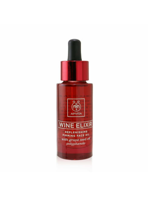 Apivita Men's Wine Elixir Replenishing Firming Face Oil Balms & Moisturizer