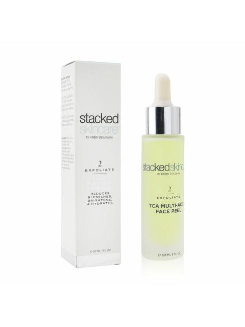 Stacked Skincare Women's Tca Multi-Acid Face Peel Exfoliator
