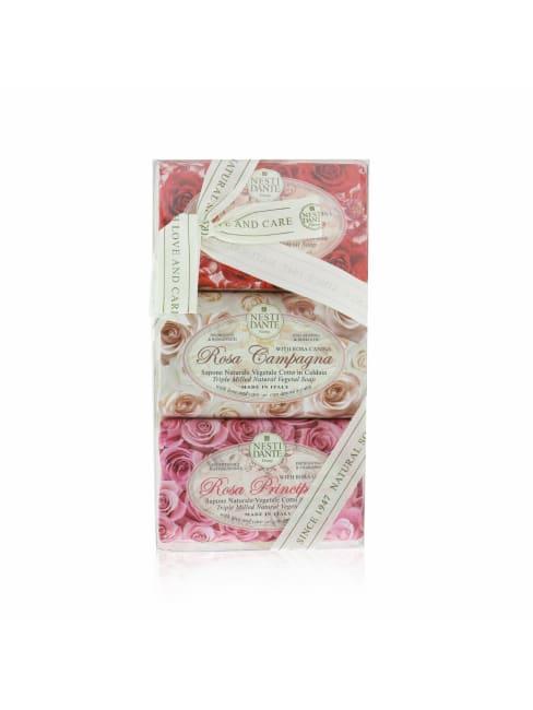 Nesti Dante Women's Rosa Sensuale, #Rosa Champagna, Principessa Soap Set Brush