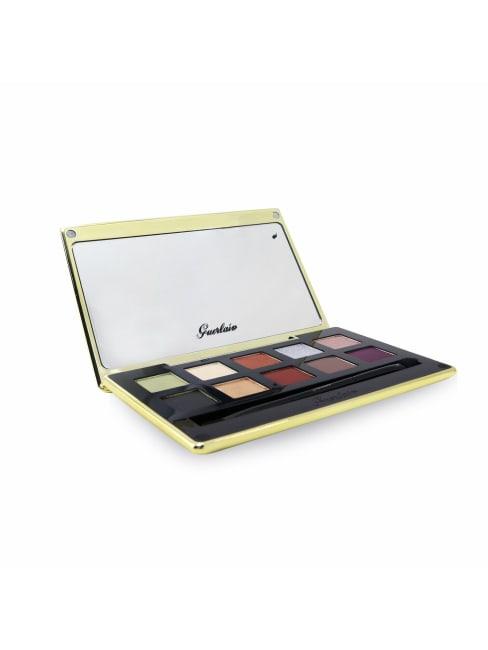 Guerlain Women's Golden Bee Palette Of 10 Mat And Satin Eyeshadows Brush Set