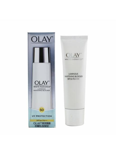 Olay Women's White Radiance Luminous Whitening Blocker Spf 50 Pa+++ Self-Tanners & Bronzer