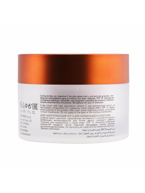 Skeyndor Men's 3% Vit. C Deriv. (For Normal To Dry Skin) Power C+ Energizing Cream Spf 15 Balms & Moisturizer