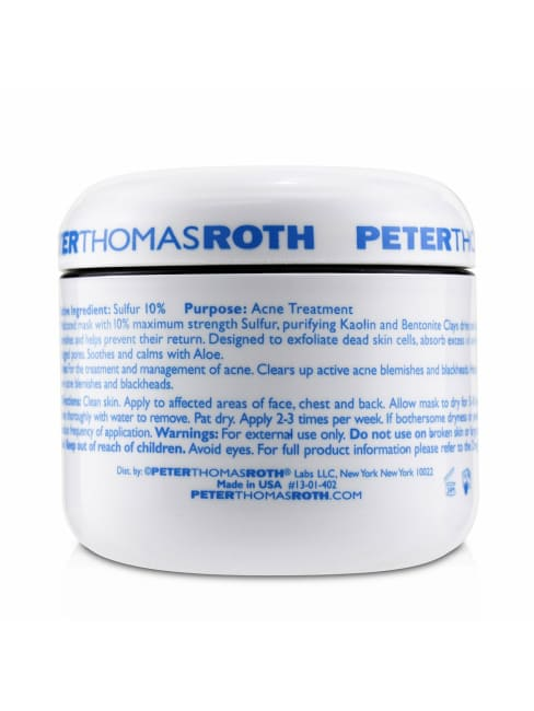Peter Thomas Roth Women's Acne Treatment Therapeutic Sulfur Masque Mask