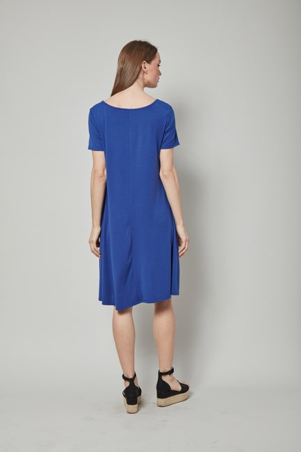 Dora Landa Keyhole neck Dress