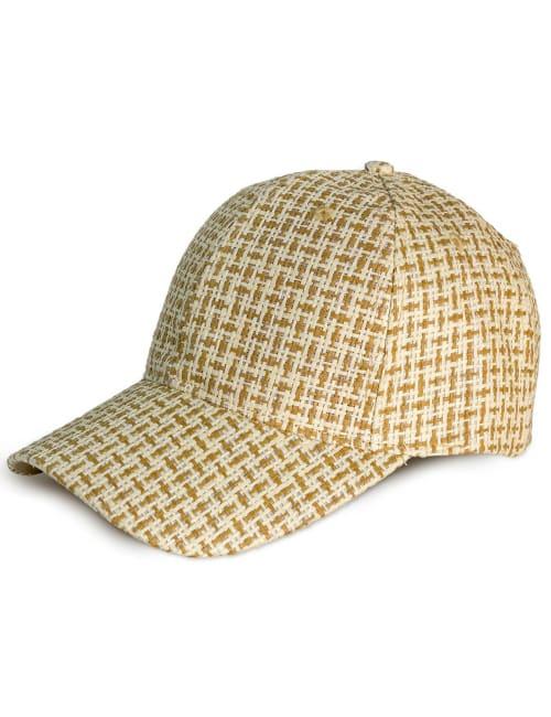Pattern Straw Baseball Cap