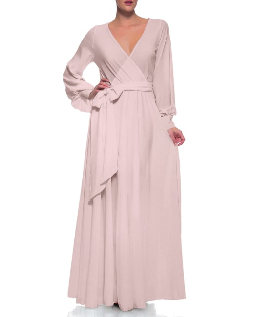 Lilypad Maxi Dress - Buff
