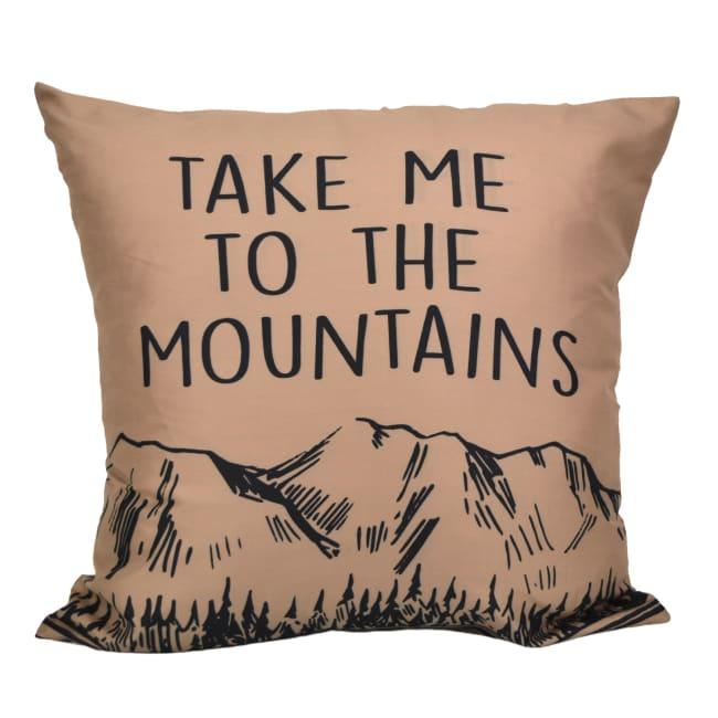Decorative Pillow, Timber (Mountain)