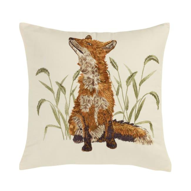 Decorative Pillow, Fox