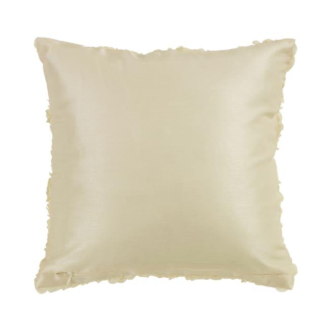 Decorative Pillow, Roses (Cream)
