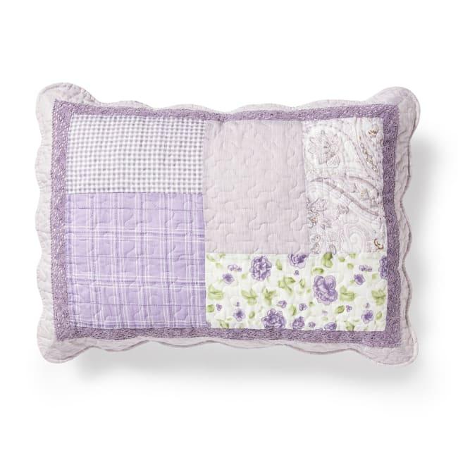 Pillow Sham, Lavender Rose