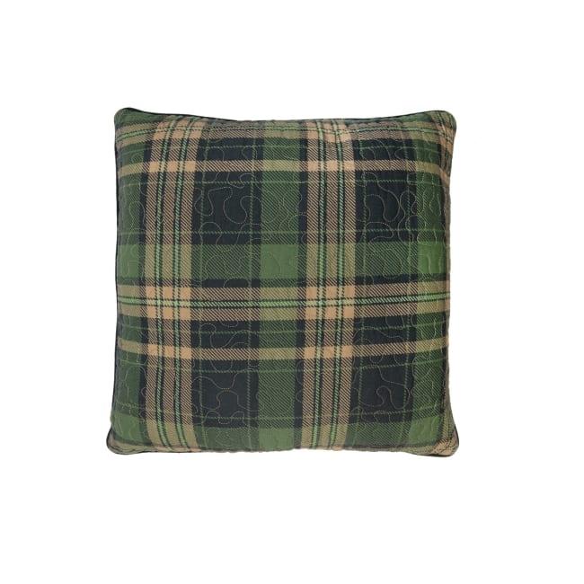Decorative Pillow, Birch Bear (Plaid)