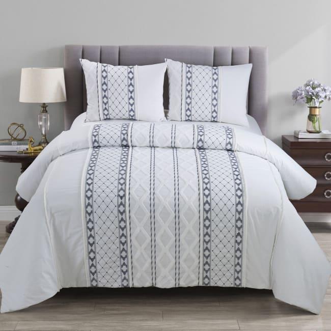King Comforter Set, Trellis