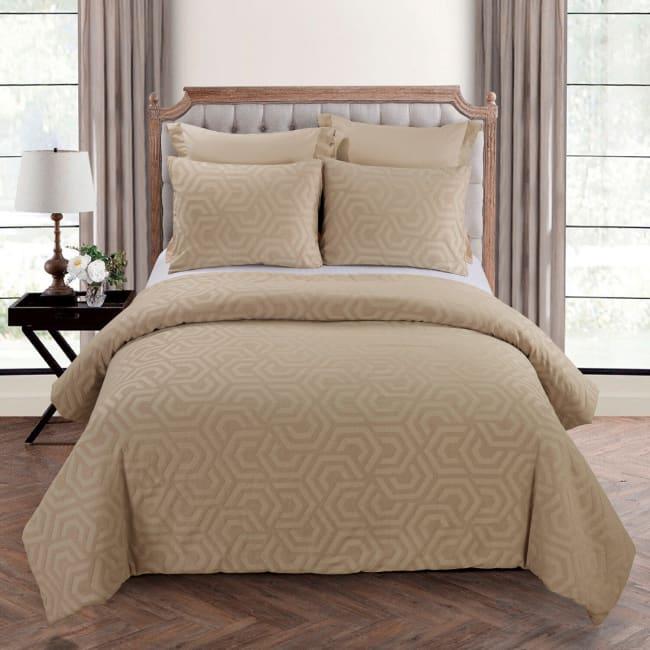 Queen Comforter Set, Seville Sand