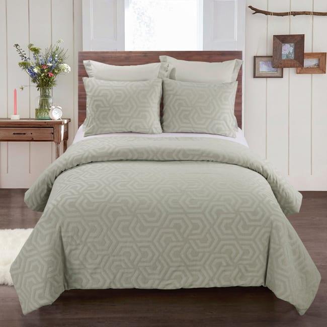 Queen Comforter Set, Seville Sage
