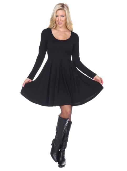 Jenara Fit and Flare Dress