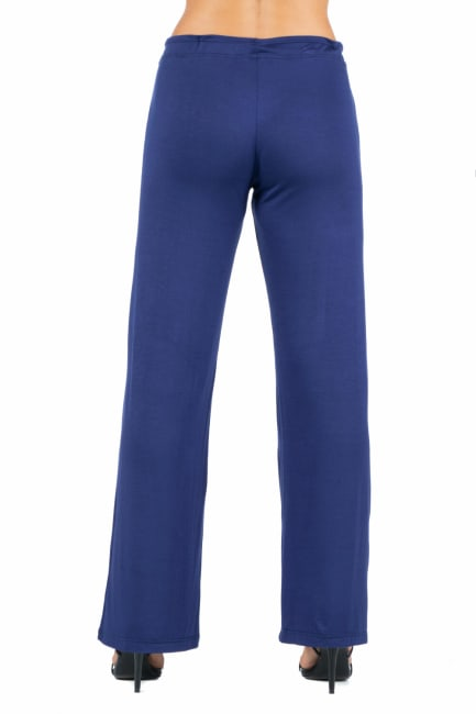 24Seven Comfort Apparel Womens Comfortable Drawstring Lounge Pants
