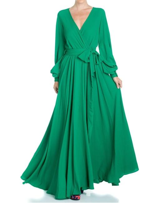 Lilypad Maxi Dress - Emerald