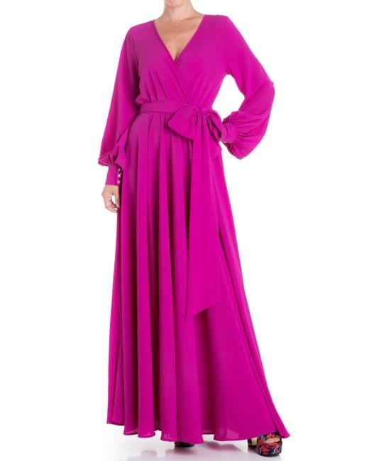 Lilypad Maxi Dress - Magenta