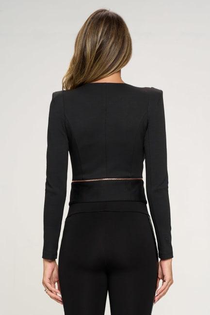 KAII Zipper Detail Jacket