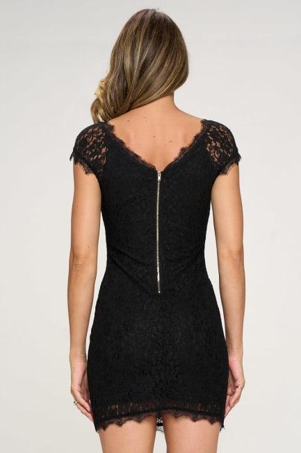 KAII Women's Lace Mini Dress