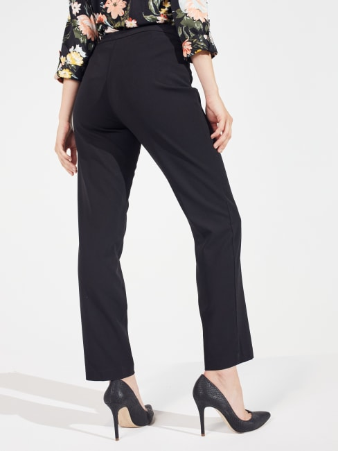 Needle & Cloth Pull On Tummy Control Pants With L Pockets -Average
