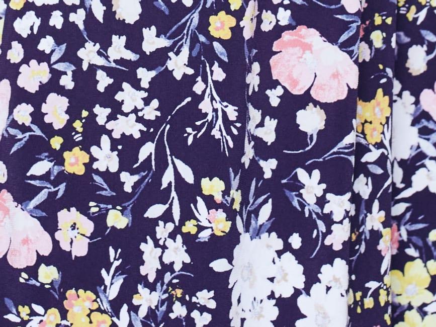 Cocomo Sleeveless Mixed Floral Popover