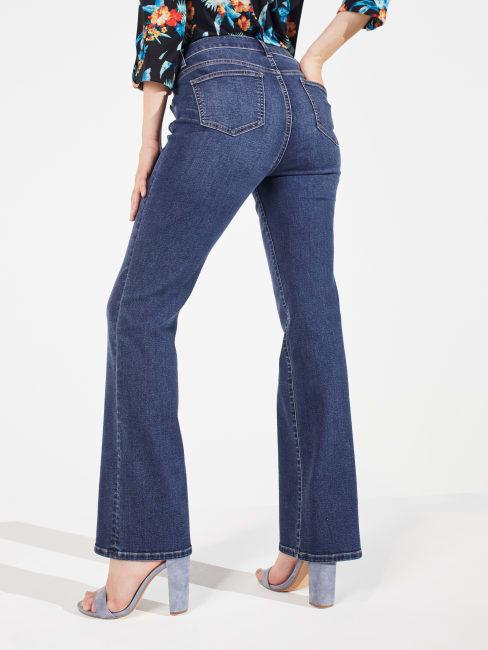 Peck & Peck Signature Bootcut 5 Pocket Denim Jean