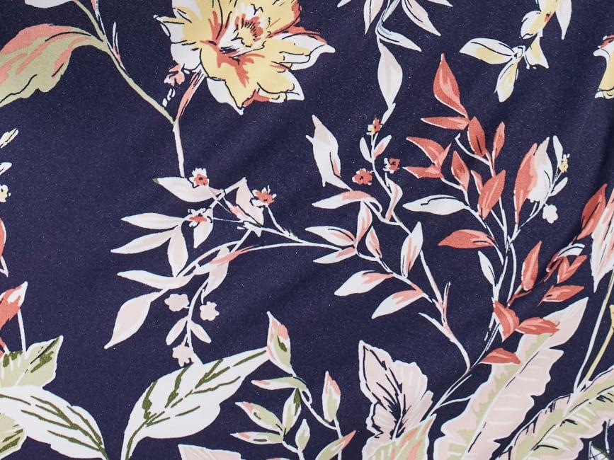 Cocomo Vintage Floral Pintuck Popover