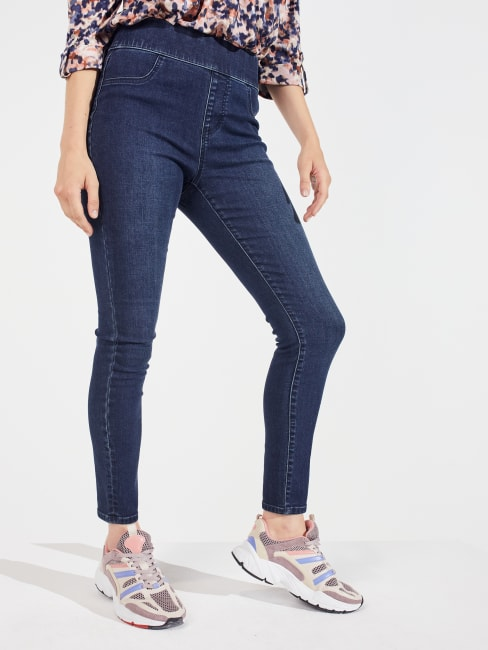 Peck & Peck   Signature Pull On High Rise Jegging Jeans