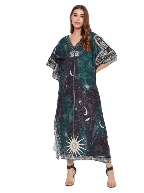 Kaftan Maxi Dress - Plus