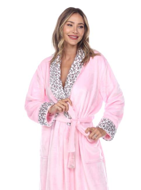Leopard Print Cozy Lounge Robe