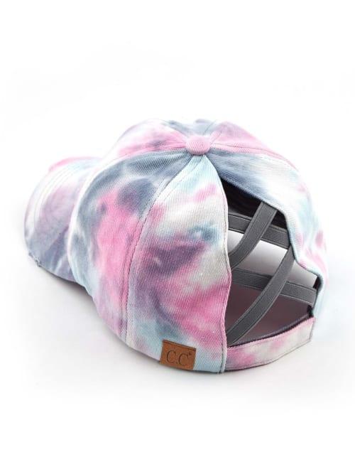 CC Tie-Dye Criss-Cross Ball Cap