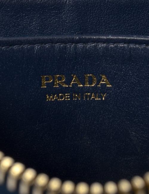 Pre-Loved Prada Vitello Move Zip Around Coin Case